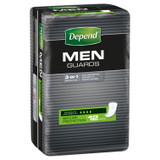 Depend Guards For Men, Moderate Absorbency, 12 Guards
