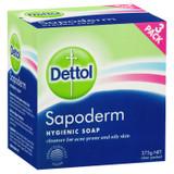 Dettol Sapoderm Hygienic Soap for Acne Oily Skin