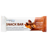 Impromy Snack Bar Chocolate with Protein, Fruit, Almonds & Fibre 35g