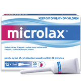 Microlax 12 Pack in Australia at Blooms The Chemist