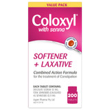 Coloxyl with Senna 200 tablets online at Blooms The Chemist