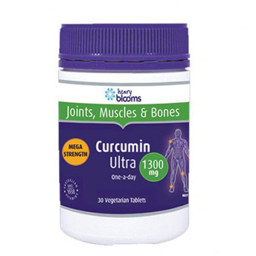 Henry Blooms Curcumin 1300mg - 30 Tablets