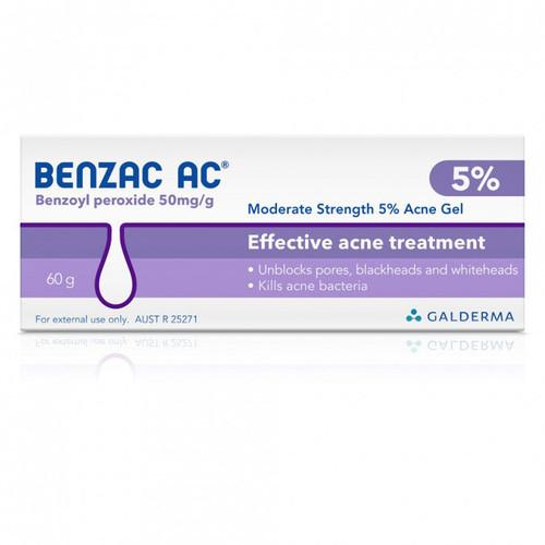 Benzac AC Gel in Australia at Blooms The Chemist