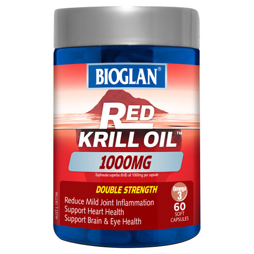Bioglan Red Krill Oil online at Blooms The Chemist
