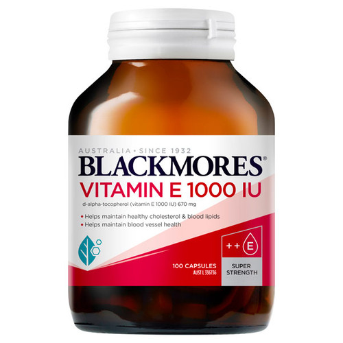 Blackmores Vitamin E in Australia at Blooms The Chemist