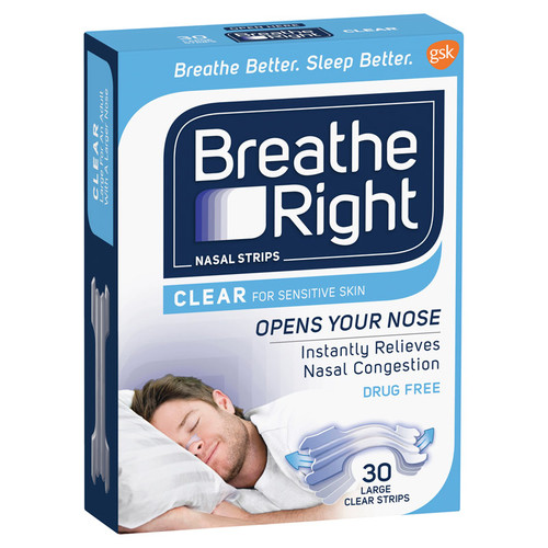 Breathe Right Clear Large online at Blooms The Chemist