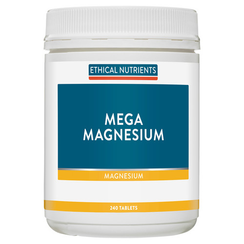 Ethical Nutrients Mega Magnesium in Australia at Blooms The Chemist