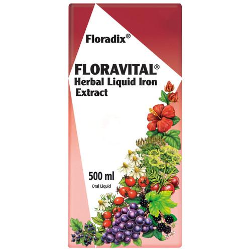 Floradix Floravital Herbal Liiquid Iron Extract 500ml