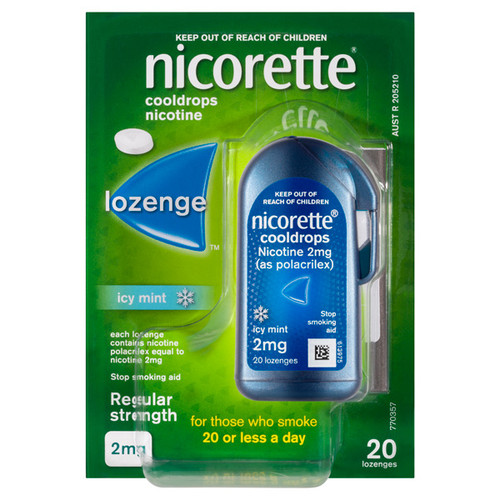 Nicorette Cooldrops Lozenges 2mg at Blooms The Chemist