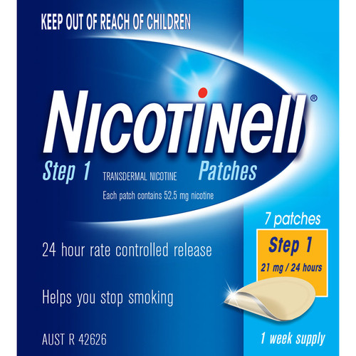 Nicotinell Patch 21mg - 7 Patches 1