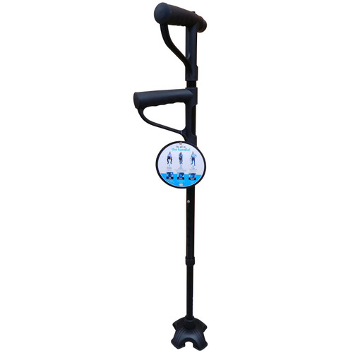 Adjustable Two Handle Walking Stick