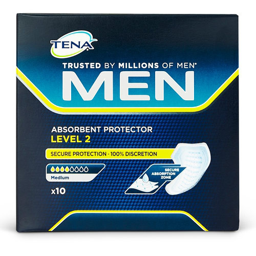 TENA Men Absorbent Protector Level 2 - 10 Pack