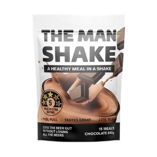 The Man Shake Chocolate 840g by Blooms The Chemist