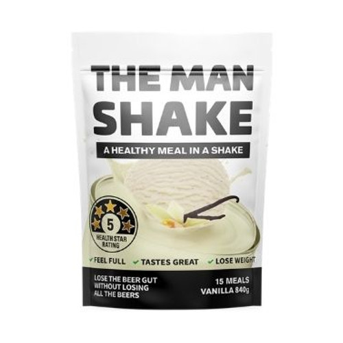 The Man Shake Vanilla 840g by Blooms The Chemist