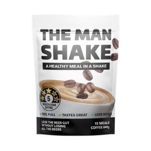 The Man Shake Coffee 840g by Blooms The Chemist