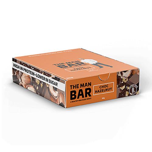 The Man Bar Choc Hazelnut 50g - Pack of 10 at Blooms The Chemist