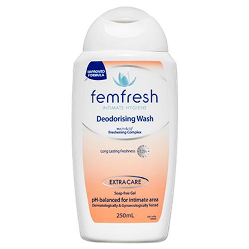 Femfresh Deodorising Wash 250ml at Blooms The Chemist