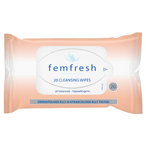 Femfresh Feminine Wipes - 20 pack at Blooms The Chemist