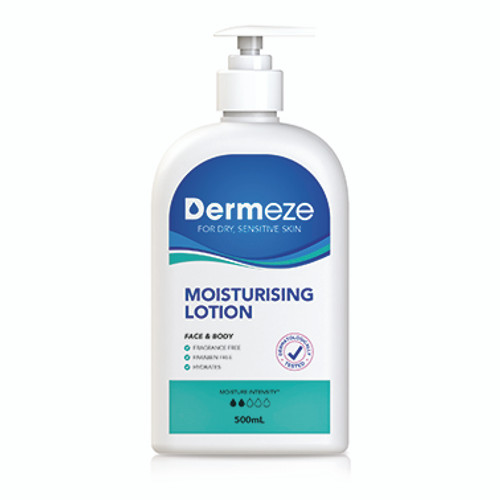 Dermeze Moisturising Lotion 500ml at Blooms The Chemist