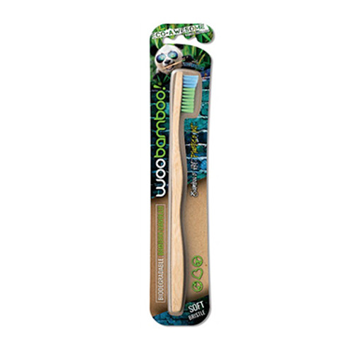 WooBamboo Toothbrush Adult Soft at Blooms The Chemist