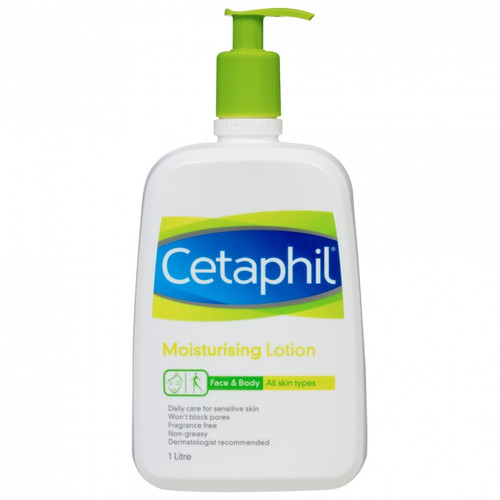 Cetaphil Moisturising Lotion Face & Body 1L at Blooms The Chemist