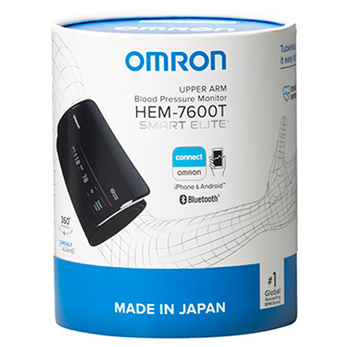Omron HEM7600T Smart Elite+ Blood Pressure Monitor at Blooms The Chemist