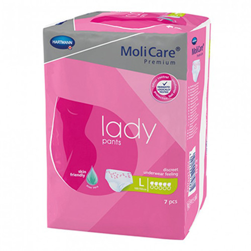 MoliCare Premium Lady Pants 5 Drops Large 7 Pack at Blooms The Chemist