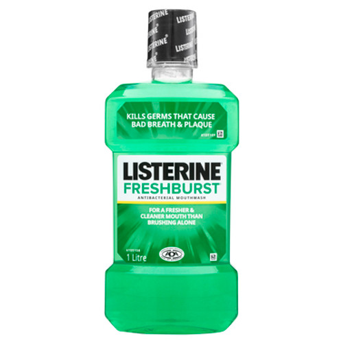 Listerine FreshBurst Antibacterial Mouthwash 1L