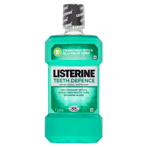 Listerine Teeth Defence Mouthwash 1L