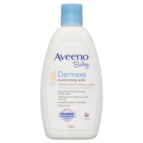 Aveeno Baby Dermexa Moisturising Wash 236ml