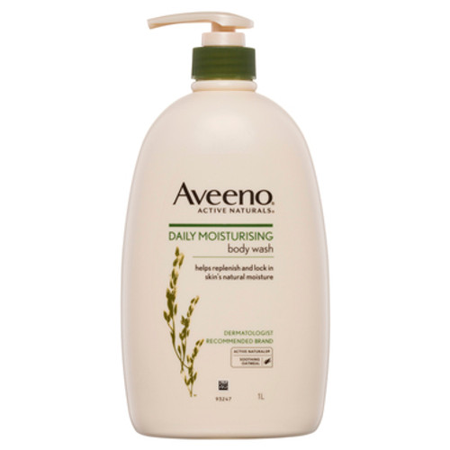 Aveeno Active Naturals Daily Moisturising Body Wash Soothing Oatmeal 1L