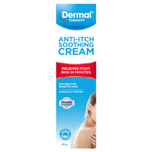 Dermal Therapy Anti-Itch Soothing Cream 85g at Blooms The Chemist