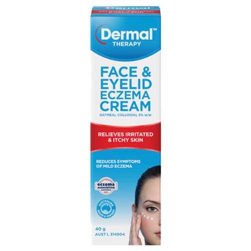 Dermal Therapy Face & Eyelid Eczema Cream 40g at Blooms The Chemist