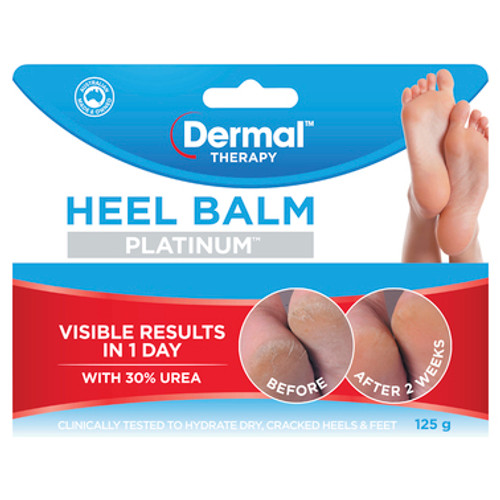 Dermal Therapy Heel Balm Platinum 125g at Blooms The Chemist