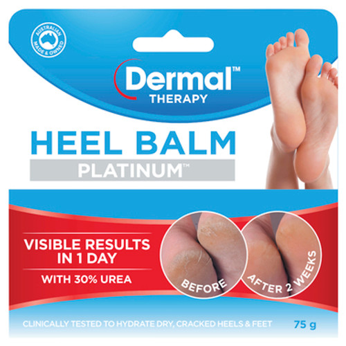Dermal Therapy Heel Balm Platinum 75g at Blooms The Chemist