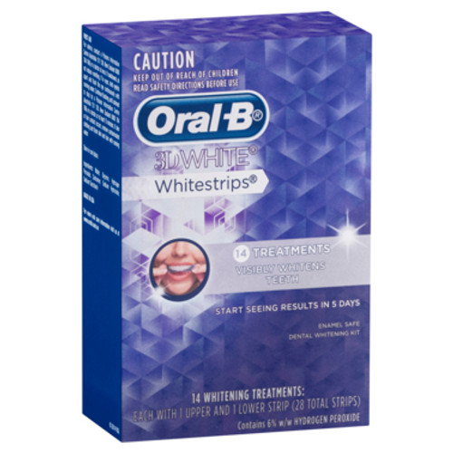 Oral-B 3D White Whitestrips 14 Treatments