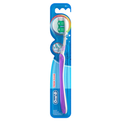 Oral-B All Rounder Fresh Clean Soft Toothbrush 1 Pack