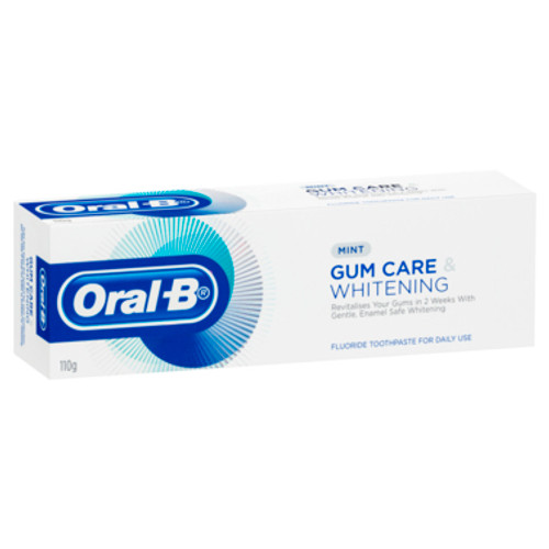 Oral-B Gum Care & Whitening Toothpaste Mint 110g