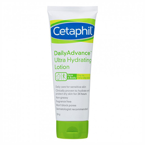 Cetaphil Daily Advance Ultra Hydrating Lotion 226g at Blooms The Chemist