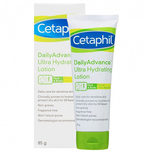 Cetaphil Daily Advance Ultra Hydrating Lotion 85g at Blooms The Chemist