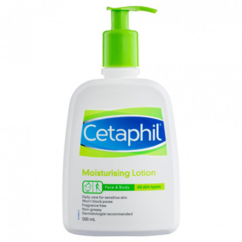 Cetaphil Moisturising Lotion 500ml at Blooms The Chemist