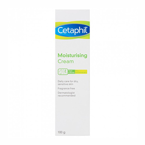 Cetaphil Moisturising Cream 100g at Blooms The Chemist