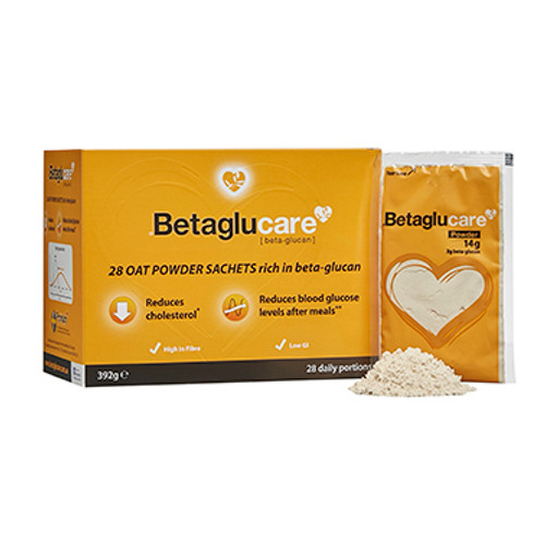 Betaglucare Oat Powder Sachets 14g 28 pack at Blooms The Chemist
