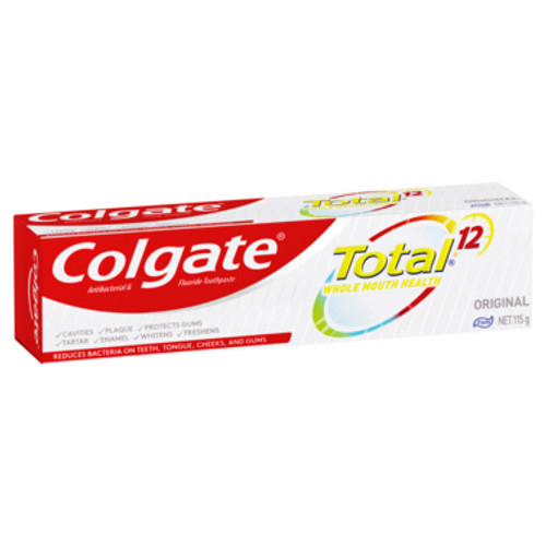 Colgate Toothpaste Total 115g at Blooms The Chemist