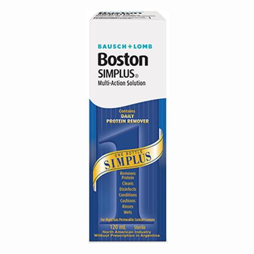 Bausch & Lomb Boston Simplus Multi-Action Solution 120ml