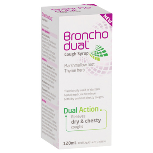 Bronchodual Cough Syrup 120ml at Blooms The Chemist