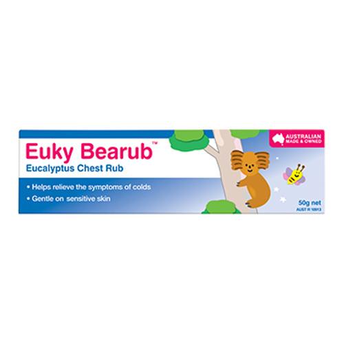 Euky Bear Chest Rub Eucalyptus 50g