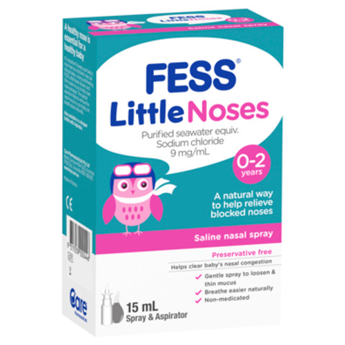 Fess Nasal Spray + Aspirator Little Noses 15ml at Blooms The Chemist