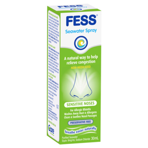 Fess Nasal Spray Sensitive 30ml at Blooms The Chemist