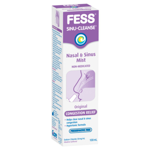 Fess Congestion Relief Spray Sinu-Cleanse Hypertonic 100ml